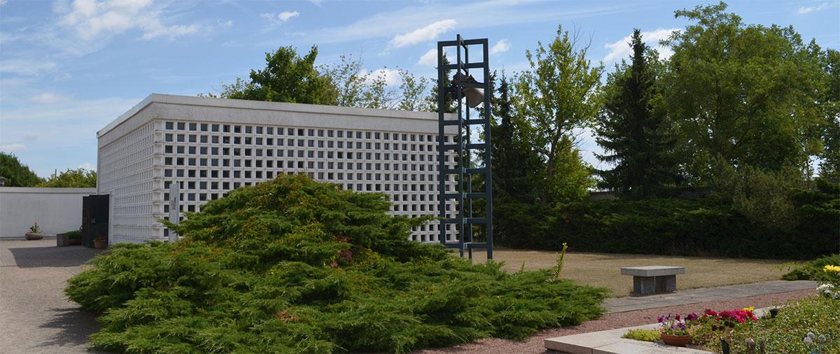 Trauerhalle Neuer Friedhof Schwedt Oder